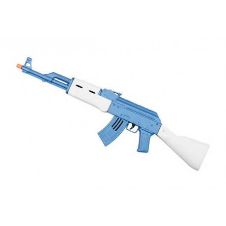 Subfusil de Asalto Kalashnikov AK-47 Azul y Blanco