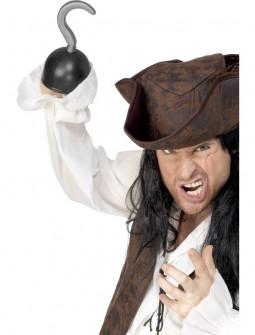 Garfio de Pirata Corsario para Adulto