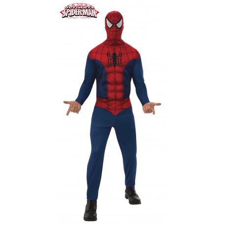Disfraz de Spiderman Clásico para Hombre