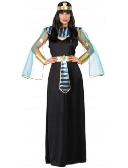 Disfraz de Egipcia Negro para Adulto