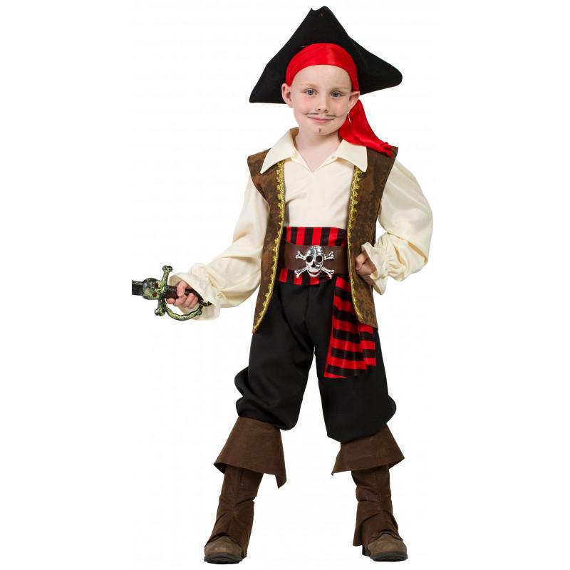 eb8a60e29 Disfraz de Pirata Jack para Niño