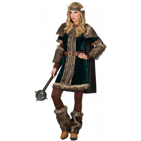 Disfraz de Guerrera Vikinga para Mujer