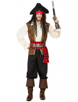 Disfraz de Pirata Jack para Adulto