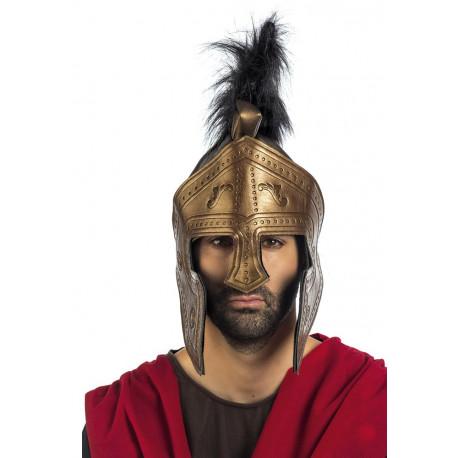 Casco de Centurión Romano Dorado