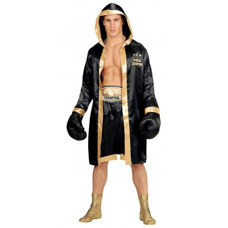 Disfraz de Boxeador Negro para Hombre