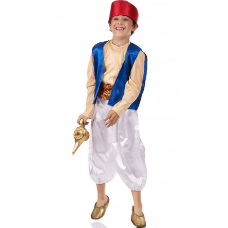 Disfraz de Aladdin para Niño
