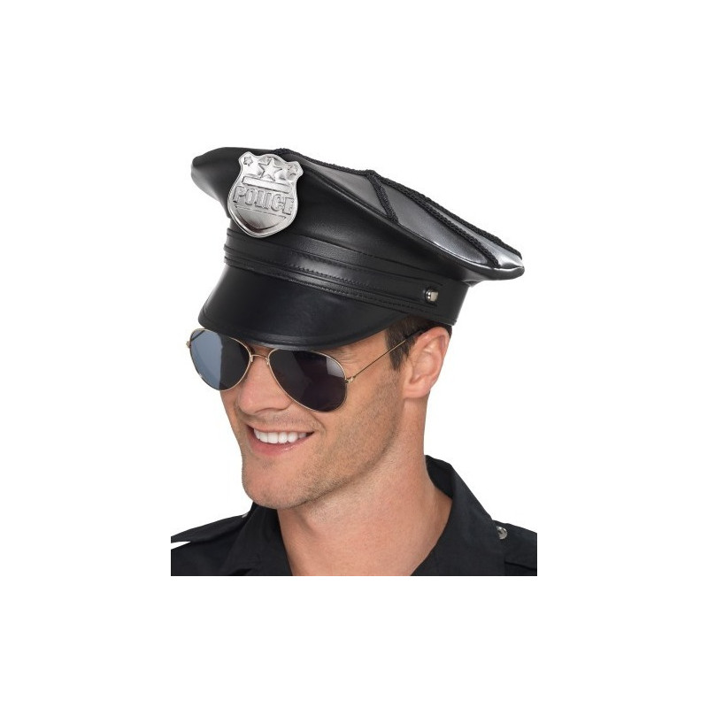 b40ec9a86c03f Gorra de Policía Premium