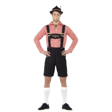 Disfraz de Bávaro Elegante Corto para Hombre
