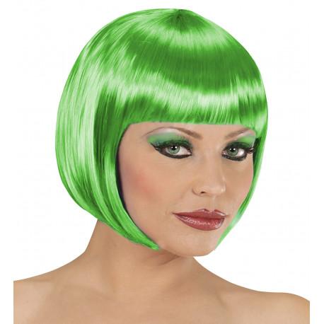 Peluca Verde Corta