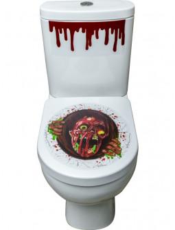 Adhesivos Zombie para WC