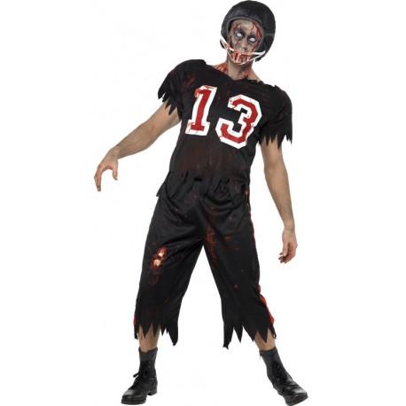 Disfraz de Jugador de Rugby Zombie para Adulto
