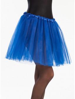 Tutú Azul Largo de 40cms para Mujer