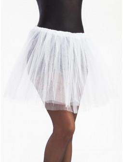 Tutú Blanco Largo de 40cms para Mujer