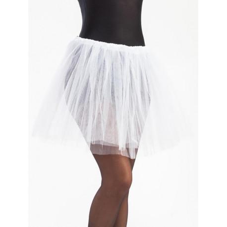 descuento hasta 60% variedad de estilos de 2019 nueva estilos Tutú Blanco Largo de 40cms para Mujer