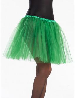 Tutú Verde Hierba Largo de 40cms para Mujer