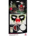 Kit de Maquillaje de Payaso Asesino