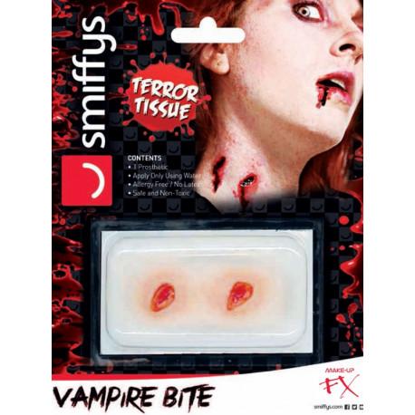 Prótesis de Herida de Mordisco de Vampiro