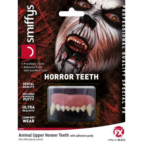 Prótesis de Dentadura de Animal Hiperrealista