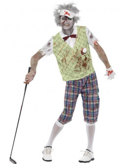Disfraz de Golfista Zombi para Hombre