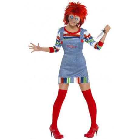 Disfraz de Chucky el Muñeco Diabólico para Mujer