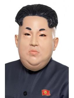 Máscara de Dictador Coreano Kim Jong Un