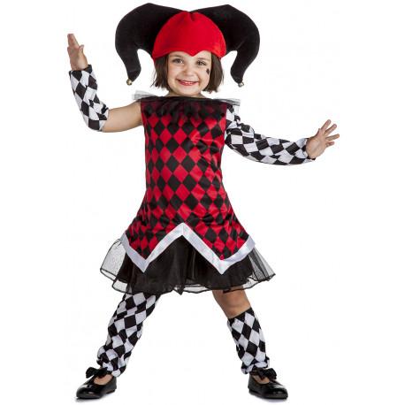 Disfraz de Arlequín Rombos para Niña