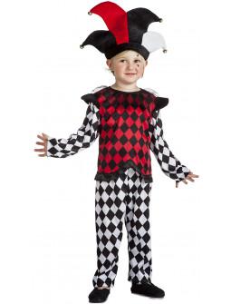 Disfraz de Arlequín Rombos para Niño