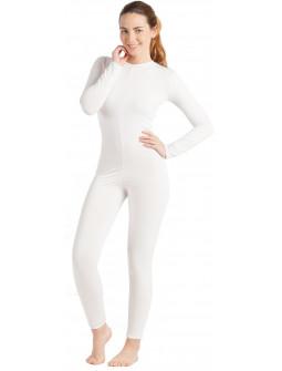 Malla de Cuerpo Entero Blanca para Mujer