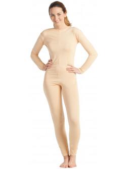 Malla de Cuerpo Entero Color Carne para Mujer