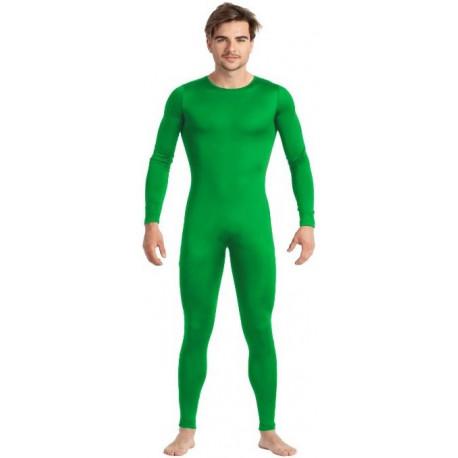 Malla de Cuerpo Entero Verde para Hombre