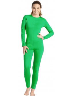 Malla de Cuerpo Entero Verde para Mujer
