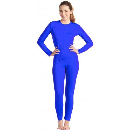 Malla de Cuerpo Entero Azul para Mujer
