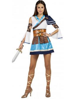Disfraz de Guerrera Griega para Mujer