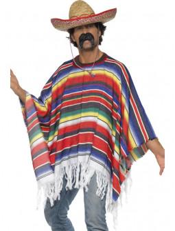 Poncho Mexicano Multicolor
