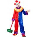 Disfraz de Payaso Terroríficamente Divertido para Hombre
