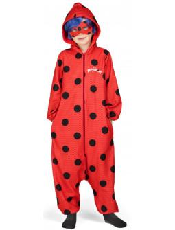 Disfraz de Ladybug Pijama para Niña