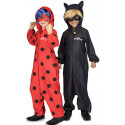 Disfraz de Cat Noir Pijama para Niño