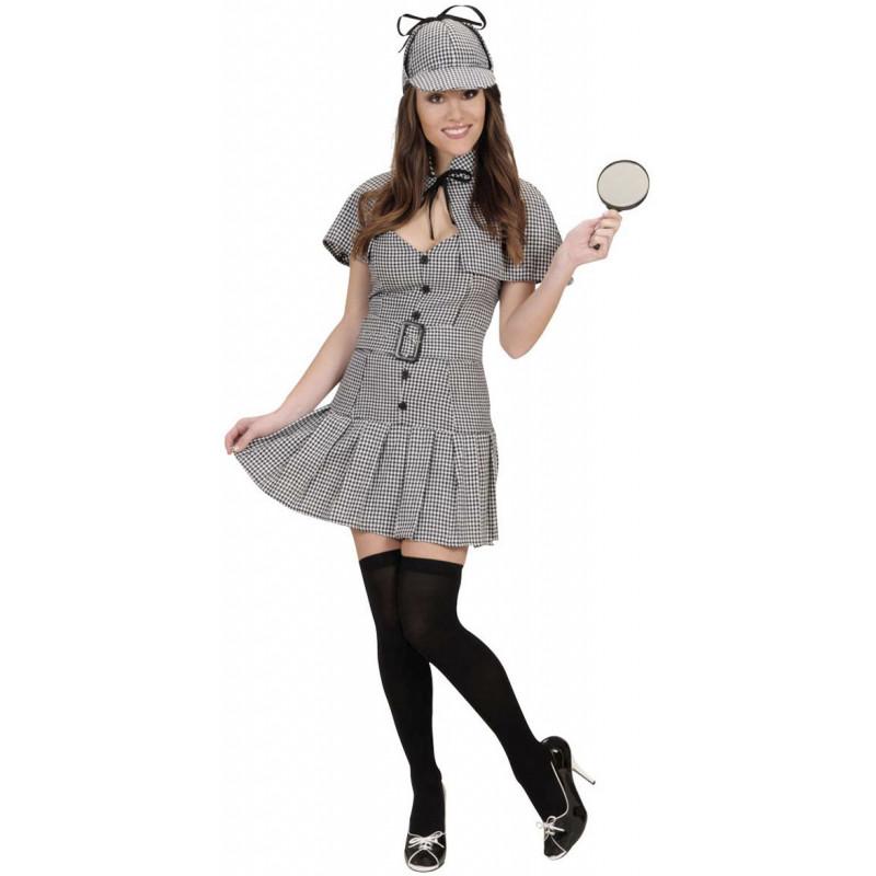 77cd0239e Disfraz de Detective Sherlock para Mujer | Comprar Online