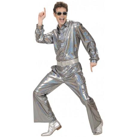 Pantalones Disco plateados
