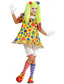 Disfraz de Clown con lunares