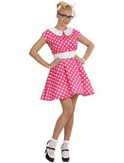 Disfraz de Lady años 50