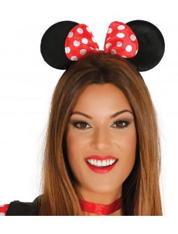 Diadema de Minnie Mouse con Lazo