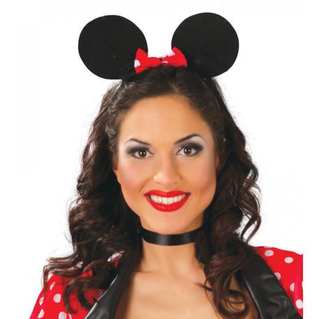 Orejas de Minnie Mouse con Lazo