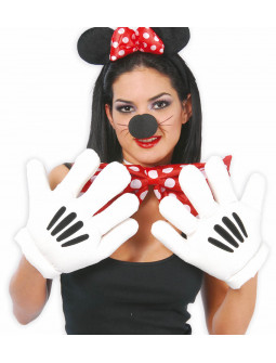 Guantes de Mickey Mouse o Super Mario
