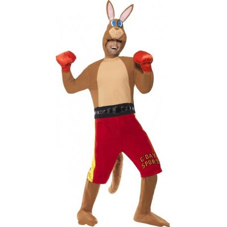 Disfraz de Canguro Boxeador para Adulto