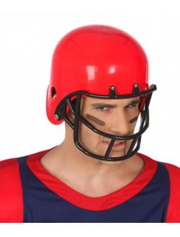 Casco de Fútbol Americano Rojo