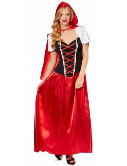 Disfraz de Caperucita Rojo Largo