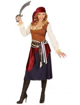 Disfraz de Pirata de Caribe Elegante para Mujer