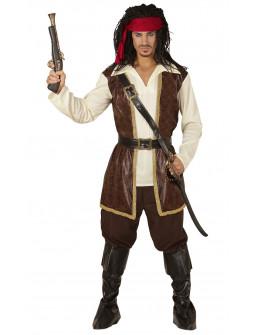 Disfraz de Pirata de Caribe Elegante para Hombre