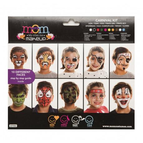 Kit de Maquillaje de Carnaval Infantil